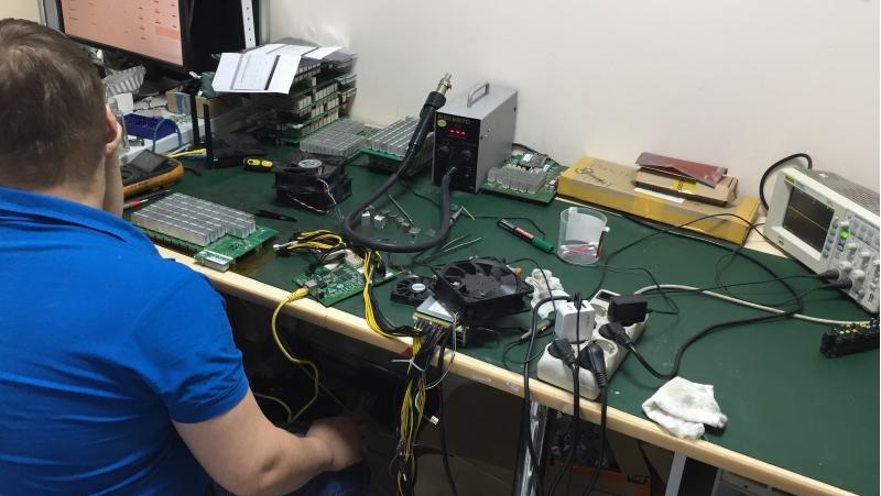Быстрый ремонт и поставка ASIC S9 S11